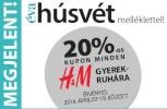 H&M gyermekruha kupon az áprilisi Évában!