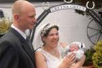Szülés után négy órával ment férjhez egy brit nő