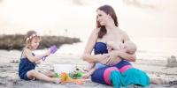 Gyönyörű fotók szoptató kismamákról!