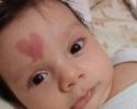 A szeretet jelét hordozza a baba