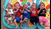 Kistestvért akartak, ötösikreik születtek…