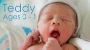 Egy baba első éve 2 percben – videó!
